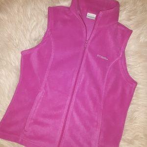 New Columbia Fleece Vest!😍